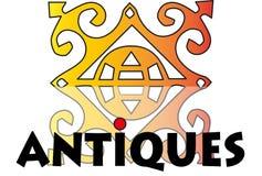 Антиквариаты логотипа - вектор бесплатная иллюстрация