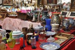 Антиквариаты справедливые в Ареццо стоковая фотография