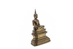 Антиквариат статуи Будды Стоковая Фотография