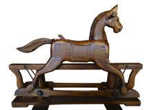 Антиквариат тряся лошади деревянный Стоковое Изображение RF