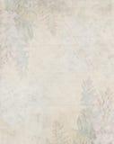 Антиквариат цветет бумажная предпосылка Стоковая Фотография RF