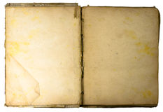 антикварная книга Стоковая Фотография RF
