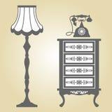 Антикварная мебель Стоковое Изображение RF