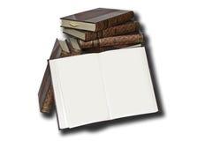 антикварные книги стоковое фото rf