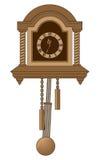 антикварные часы Стоковое Фото