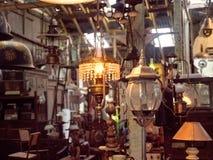 Антикварный магазин в Индонезии стоковое изображение rf