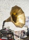 Антикварный фонограф стоковое изображение rf