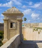 античная башня обеспеченностью стоковое фото