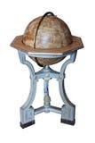 античная белизна глобуса земли предпосылки Стоковые Фото