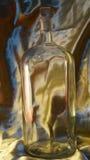 Античная бутылка apothecary Стоковые Изображения RF