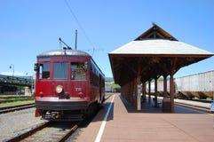 античная вагонетка платформы Стоковое Изображение RF