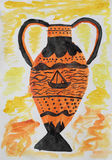 античная ваза Стоковое Изображение RF
