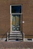 античная дверь деревянная Стоковые Фотографии RF