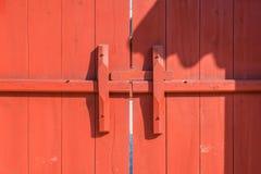 античная дверь деревянная Стоковые Изображения RF