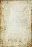 Античная винтажная бумага scrapbook Стоковые Фотографии RF