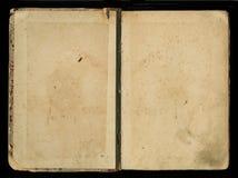 Античная винтажная обложка книги журнала дневника Стоковое Изображение RF