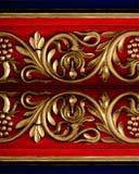 античная высекая древесина Стоковые Фотографии RF