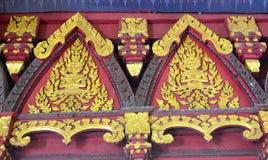 античная высекая древесина Стоковые Изображения RF