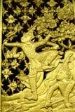 античная высекая древесина Стоковое Фото
