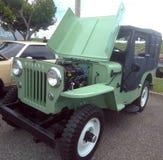 Античная выставка автомобиля Isabela мышцы Puerto Стоковые Изображения RF