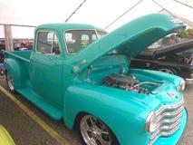 Античная выставка автомобиля Isabela мышцы Puerto Стоковые Фотографии RF