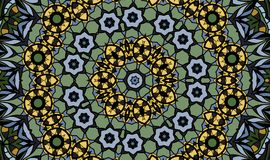 Античная геометрическая предпосылка Стоковые Изображения