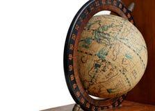 Античная глобальная карта Стоковые Изображения