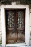 античная дверь Стоковая Фотография