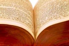 античная деталь книги 3 1610 Стоковая Фотография