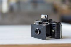 Античная камера фильма готовая для того чтобы принять съемку Стоковое Фото