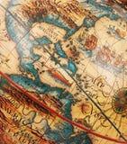 античная карта Стоковые Фото