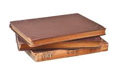 Античная книга на белизне Стоковые Изображения RF