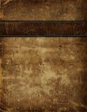 античная кожа крышки книги Стоковое Изображение