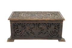 античная коробка старая стоковые изображения rf