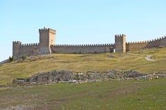 античная крепость Стоковые Изображения