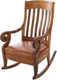 Античная кресло-качалка стоковое изображение