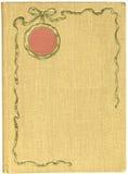 античная крышка книги Стоковые Изображения RF