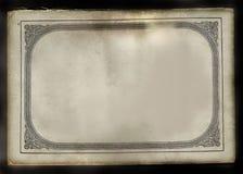 античная крышка книги стоковая фотография rf