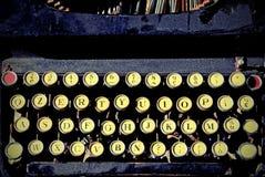 Античная машинка для писателей Стоковые Изображения