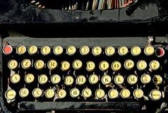 Античная машинка для писателей Стоковое Изображение