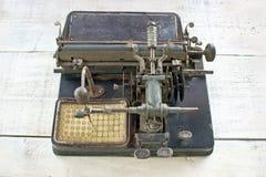 античная машинка Стоковое Изображение
