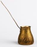 античная медь кофе Стоковое Изображение RF