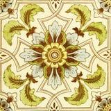 античная подкрашиванная плитка Стоковые Изображения