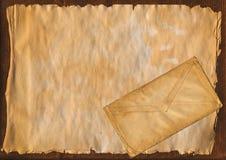 Античная предпосылка золота Стоковая Фотография