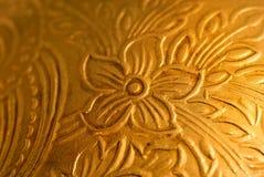 античная предпосылка золотистая Стоковое Фото
