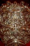 античная предпосылка золотистая Стоковые Фотографии RF