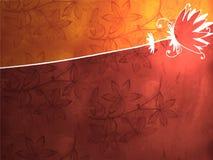античная предпосылка флористическая Стоковое фото RF