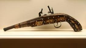 античная пушка Стоковая Фотография