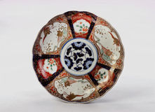 Античная плита Imari японца Стоковые Изображения