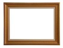 античная рамка деревянная Стоковое Изображение RF